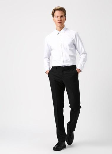 Fabrika Klasik Pantolon Siyah